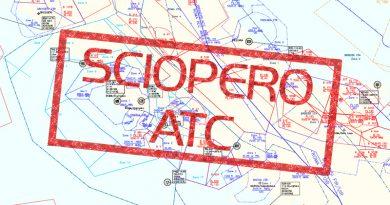 25 novembre, sciopero dei controllori del traffico aereo