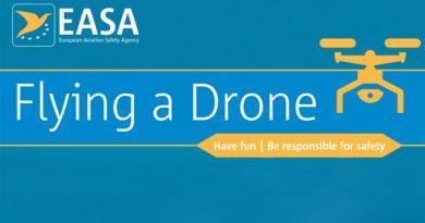 Nuova normativa europea sui droni dal 2020: pubblicati i regolamenti