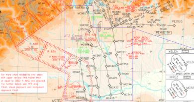 Le modifiche dell'AIRAC 7/2019 dal 15 agosto