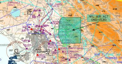 14/22 ottobre: attività militari ad est di Roma