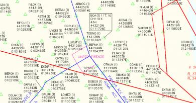 Le modifiche dell'AIRAC 11/2019 dal 5 dicembre