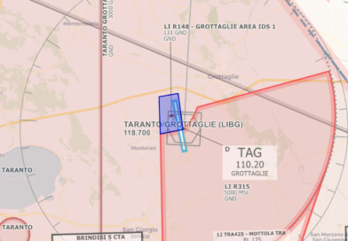 20/24 settembre: aeroporto di Taranto chiuso